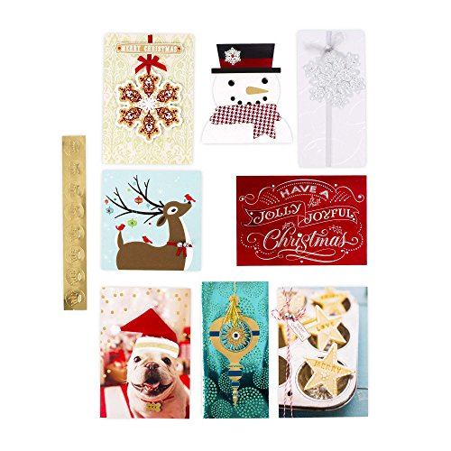 Hallmark Christmas Handmade Boxed Assorted Greeting Cards Set (Pack of 24) - Holiday Card Assortment Boxset with Envelopes Photo #7