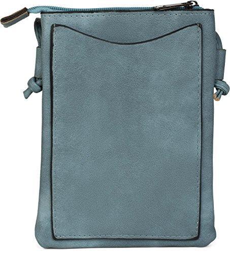 Color in handbag 02012235 shoulder styleBREAKER ladies formation bag mini Denim star bag a Black shoulder Blue with bag studs q4qXZfPxw