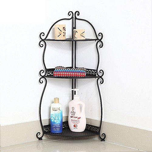 Wall Mounted Basin Stand - Bathroom racks/Toilet triangle floor stand/storage rack/toilet wall wash-basin/storage shelf-C