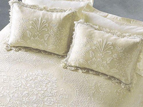 Abigail Adams Pillow Sham - Standard - White (Single Sham) (Bedspread Abigail Adams)
