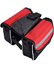 Housweety Waterproof Bicycle Bag Cycling Rear Seat Trunk Bag Panniers Bicycle Accessories With Raincoat