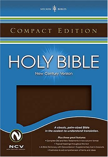 Read Online Compact Bible: New Century Version, Brown pdf epub