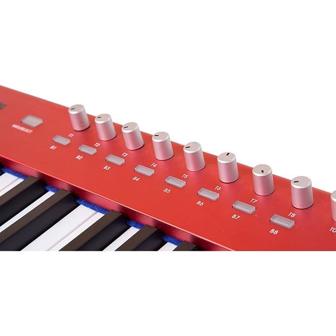 Midiplus X8 Pro - Controlador de teclado USB MIDI: Amazon.es: Instrumentos musicales
