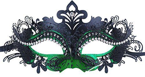 Masquerade Rhinestone Venetian Pretty Evening
