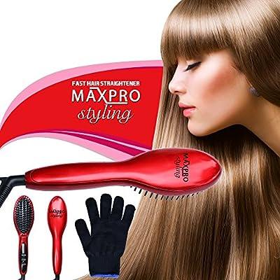 Hair Straightener Brush Straightening-Iron