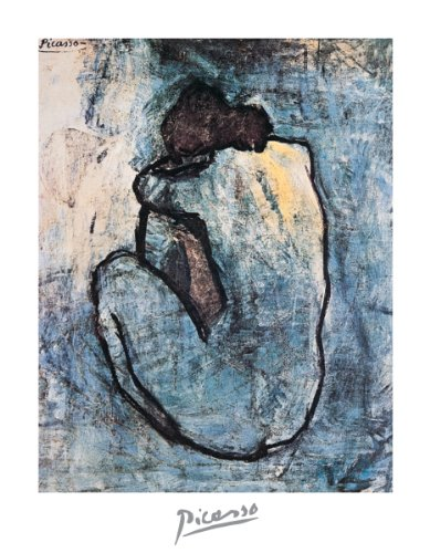11x14 Poster Print Pablo Picasso Blue Nude Blue Period
