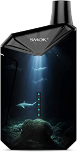 Skin Decal Vinyl Wrap for Smok X-Force AIO Kit | Vape Stickers Skins Cover| Under The Sea Sharks