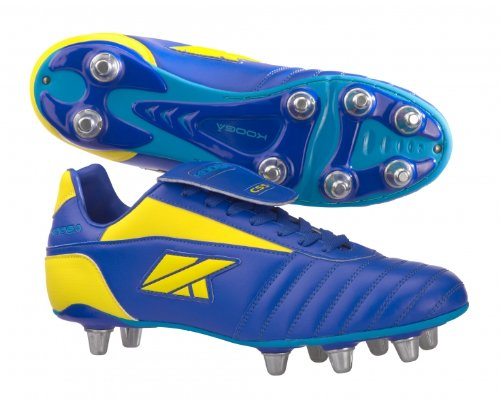 Blue Kooga Boot LCST CS5 Rugby Men's Nuevo Yellow qAwqCHY