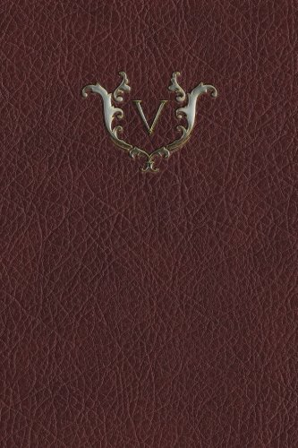 Monogram V Any Day Planner Journal (Monogram Red 365 Planner) (Volume 22) pdf