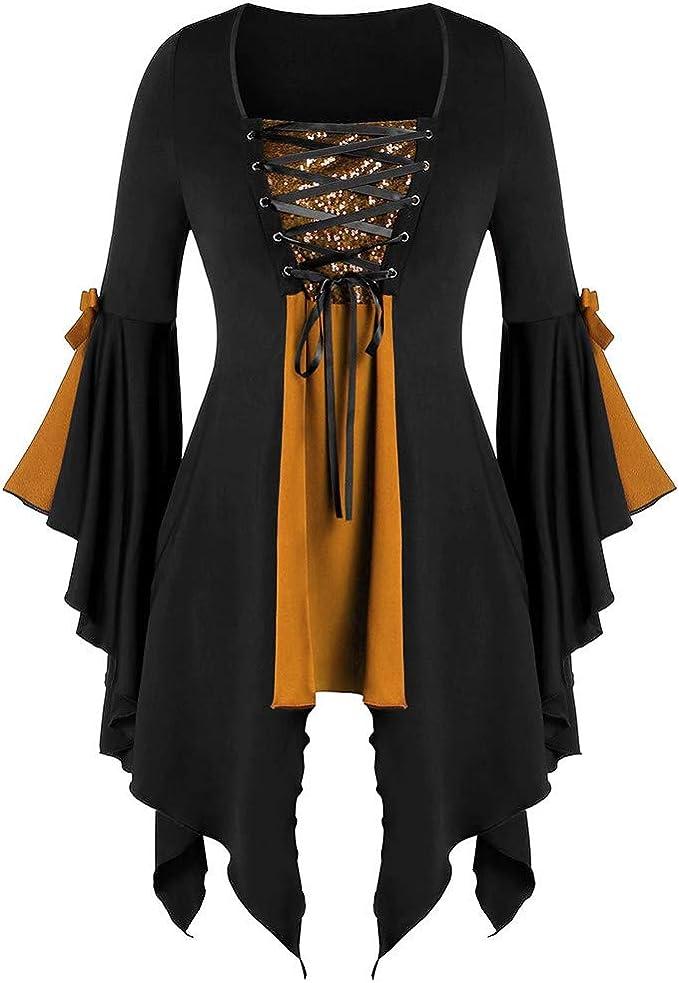 Mantella-COTONE-Medioevo Gothic Halloween con Colori e Lunghezze Scelta