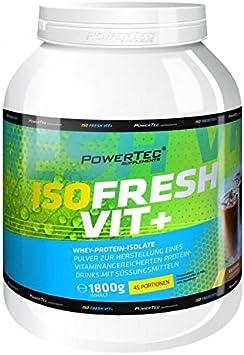 Power Tec ISO Fresh Vit + 1800 g: Amazon.es: Salud y cuidado ...