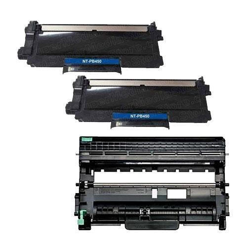 GTS Value Combo: 1 Drum Unit for Brother Dr420 and 2 Toner Cartridge for Brother Tn450 (Tn420)