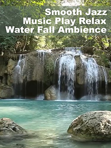 Smooth Jazz Music Play Relax Water Fall Ambience
