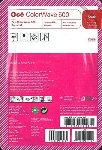 Oce USA Colorwave 500 Magenta Toner Pearls