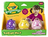 Crayola 3ct. Washable First Marks Pink, Yellow, Purple (Color may vary)