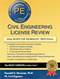 Civil Engineering License Review : For the Professional Engineer's Examination, Newnan, Donald G., 1576450295