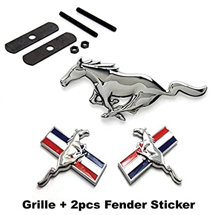Amazon Benzee 3pcs Sets Am103 Mustang Running Horse Front