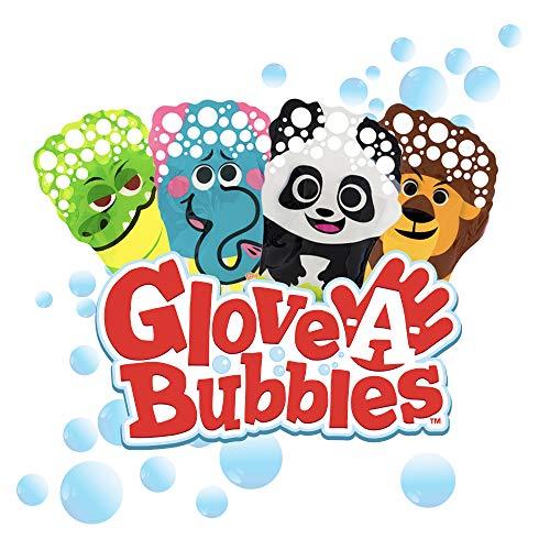 Glove-A-Bubbles 4 Pack: 1 Elephant, 1 Lion, 1 Panda, 1 Alligator