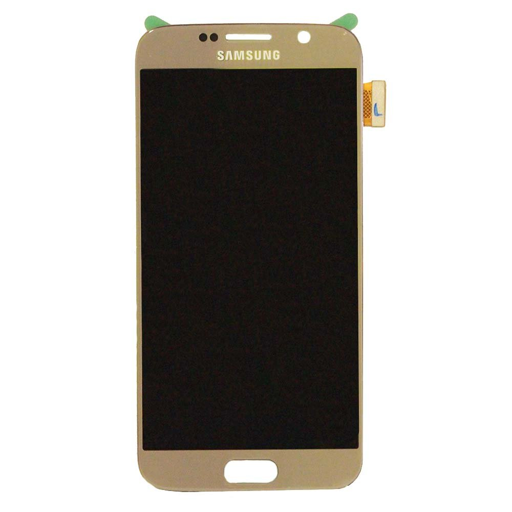 Touch Screen Digitizer and LCD for Samsung Galaxy S6 - Gold Platinum