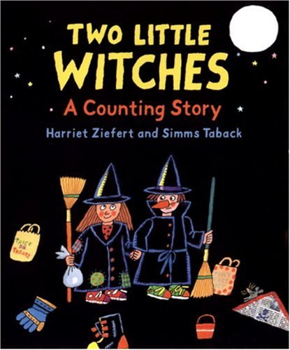 Two Little Witches: A Counting Story (Halloween Color By Numbers Addition)