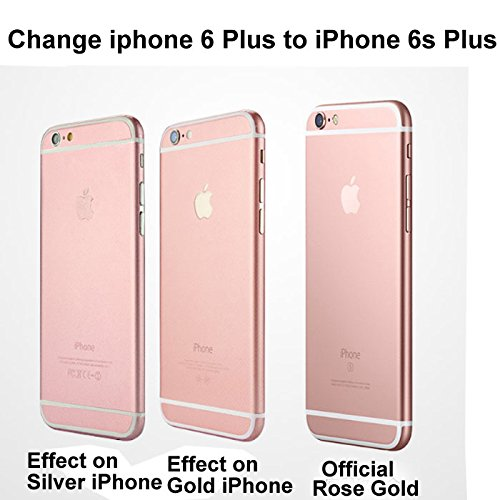 Amazon UTLK IPhone 6 Plus Decal Sticker Full Body Skin Film Make Your Iphone Looks Like 6s Rose Gold
