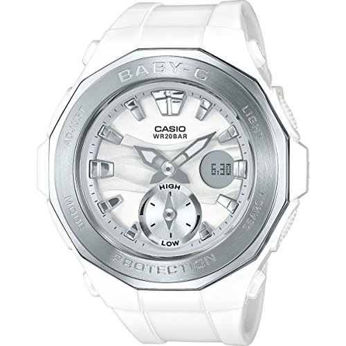 G-Shock BGA-220-7A Wht/Silver Silver Bezel - White for sale  Delivered anywhere in USA