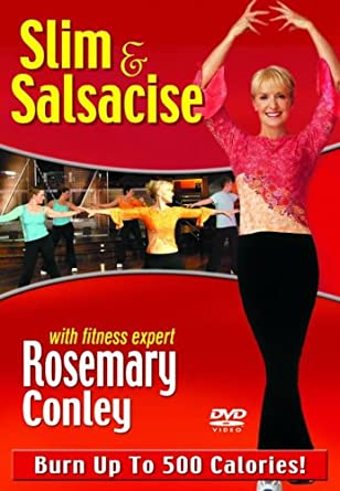 10e8ef43ed0ad Rosemary Conley - Slim  N  Salsacise  DVD   Amazon.co.uk  Rosemary ...