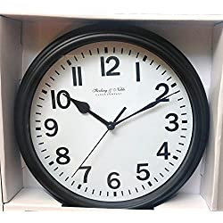 Mainstay Sterling & Noble Wall Clock - Black