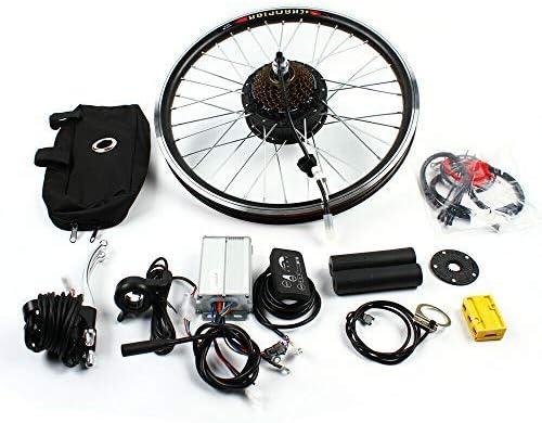 Hinterrad 20/'/' Elektro-Fahrrad Conversion Kit Elektrofahrrad Umbausatz 48V 1000W