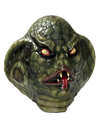 Reptile Mask (Lizard Deluxe Latex Adult Mask)