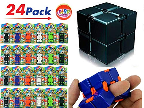 2GoodShop Kubix Speed Cube Fidget Cube Flip It Endlessly to Keep Your Fingers Busy and Your Mind Focused Pack of 24   Item #3802 by 2GoodShop (Image #7)