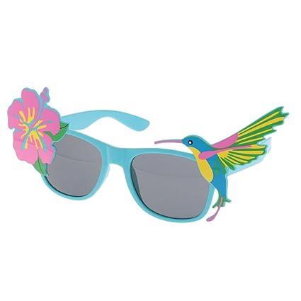 MagiDeal Gafas de Sol Estilo Pajaro Tropical Flores ...