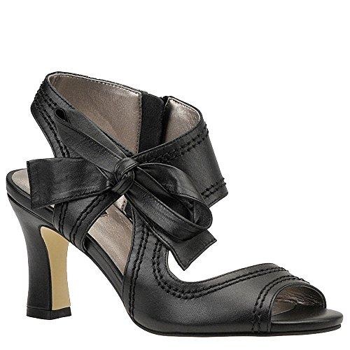 Sandalo Donna Scarlatto Nero