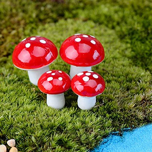 Garden Accessorie Accessories Home Mushroom Micro Landscape DIY Decoration Resin Crafts Garden Accessories Home Decor Drop Shipping