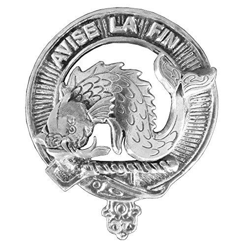 Cap Off Mechanism - Kennedy Clan Crest Scottish Cap Badge