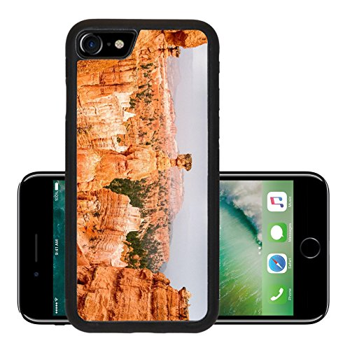 Luxlady Premium Apple iPhone 7 Aluminum Backplate Bumper Snap Case iPhone7 IMAGE ID 30722595 Vista of colorful sandstone pinnacles and spires in Bryce Canyon N P in Utah