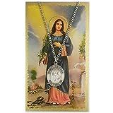 St. Agatha Pendant with Prayer Card