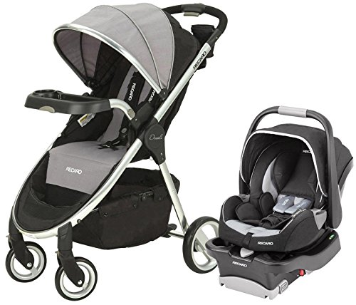 RECARO Performance Denali Coupe Travel System-2015-Granite