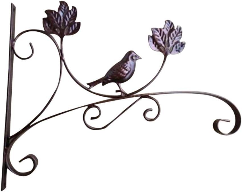 Octubre Elfo hogar jard/ín decoraci/ón de Pared Soportes para Colgar Flores macetas Plantas Ganchos Exterior//Interior para comedero de p/ájaros linternas campanillas de Viento