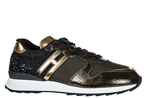 Hogan Kvinder Sko Sneakers Kvinders Lædersko Sneakers R261 Guld U8uhbOwA