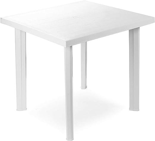 Savino Fiorenzo - Modelo Fiocco - Mesa cuadrada de resina de ...