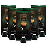 Caffitaly Nespresso Compatible Gourmet Coffee Capsules, 50 count