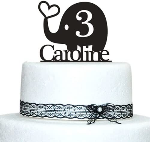 Excellent Amazon Com Frog Studio Home Love Elephant Birthday Cake Topper Funny Birthday Cards Online Necthendildamsfinfo