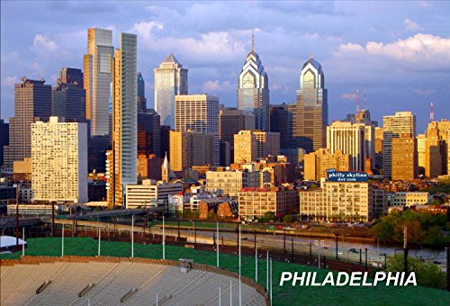 Philadelphia USA United States Fridge Refrigerator Magnets (City: Philadelphia #V7) (Fridge Magnets Usa Cities compare prices)