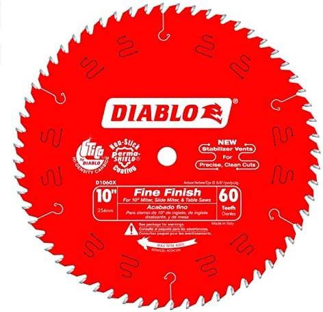 Freud D1060X Diablo 10-Inch 60 Tooth Blade