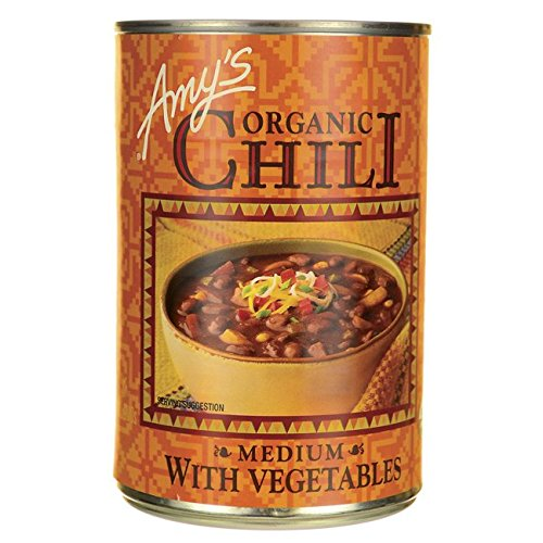 Amy's Organic Chili with Vegetables Medium -- 14.7 oz