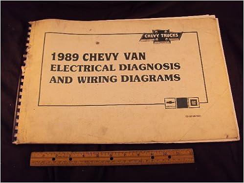 1989 chevy van wiring diagram 1989 chevrolet chevy van electrical diagnosis and wiring diagrams  1989 chevrolet chevy van electrical