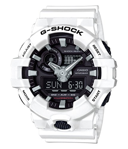 Casio-Mens-G-SHOCK-Quartz-Resin-Casual-Watch-ColorWhite-Model-GA-700-7ACR