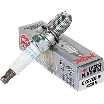 NGK 4285 BKR7EQUP - Bujía láser de platino (1 unidad): Amazon.es: Coche y moto