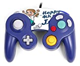 Happy 4th of July Quote Cute Girl on Firework American Flag Image Design Pattern Gamecube Controller Vinyl Decal Sticker Skin by Trendy Accessories